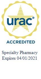 Alto is accredited by URAC for Specialty Pharmacy.